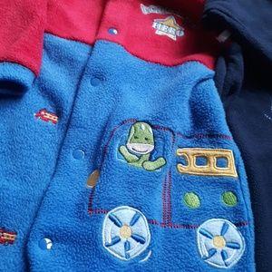 Pajamas - 9mo Boy Fleece Pajamas